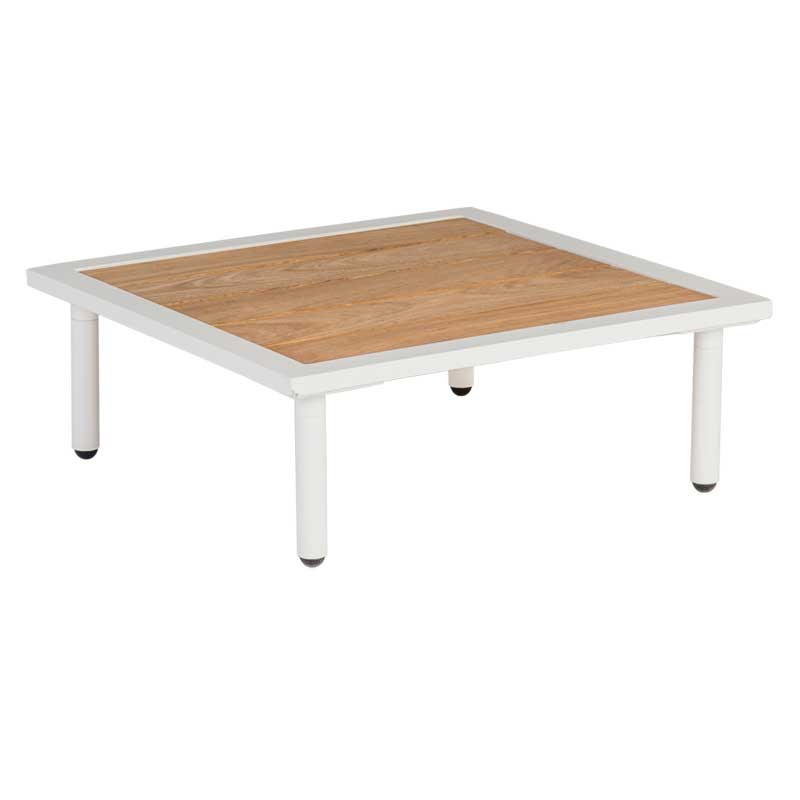 Picture of Alexander Rose Beach Lounge Side Table with Roble Top