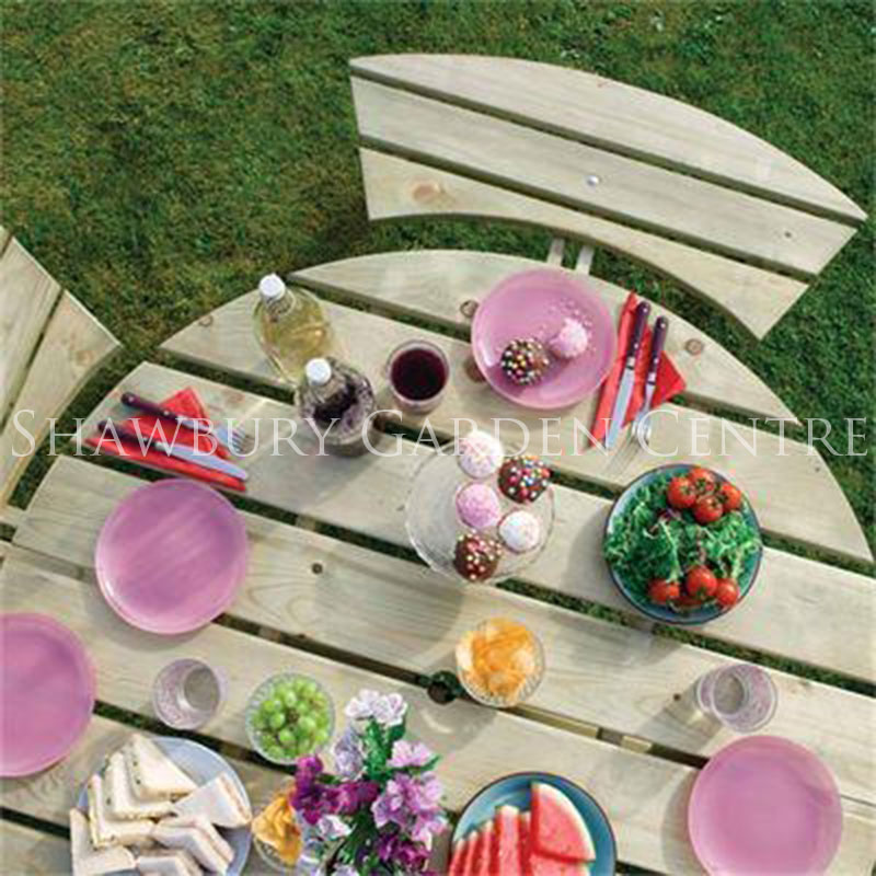 Picture of Rowlinson Round Picnic Table