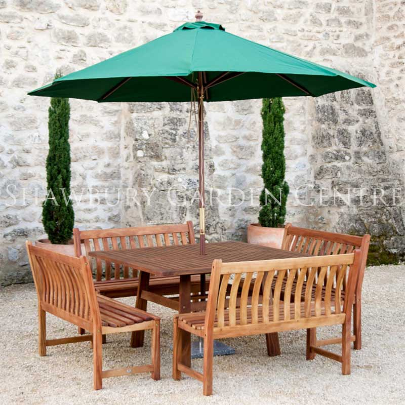 Picture of Alexander Rose Cornis Garden Furniture Set with Parasol