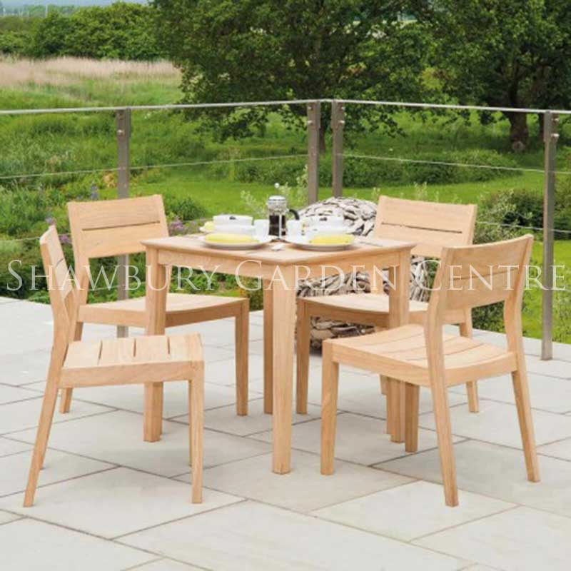 Picture of Alexander Rose Roble Cafe Terrace Furniture Set