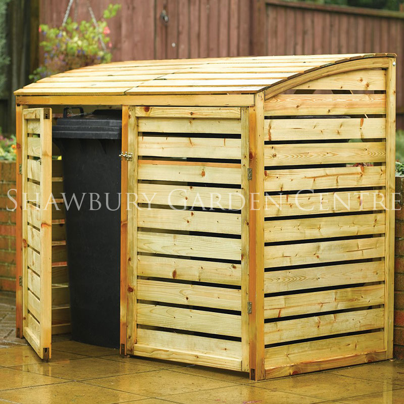 Storage Covers Sheds : Rowlinson double bin store