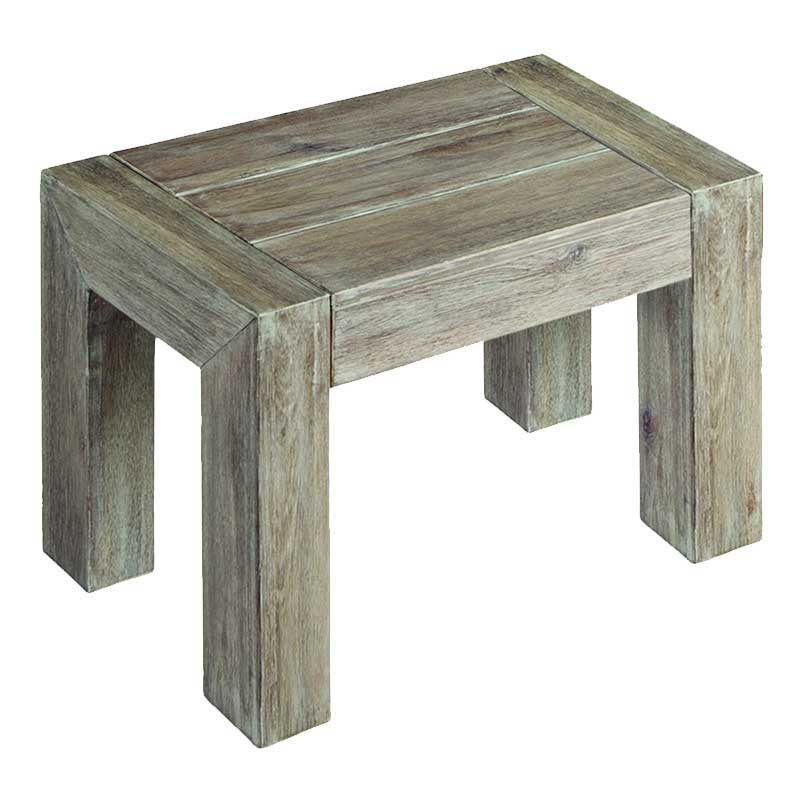 Picture of Alexander Rose Distressed Acacia Side Bench