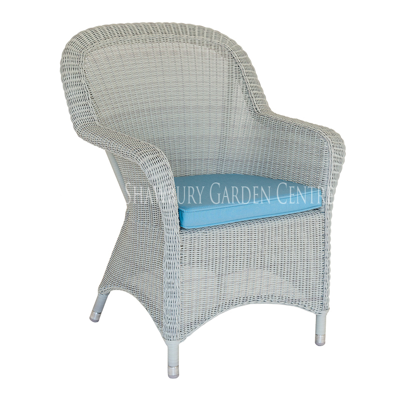 Picture of Alexander Rose Classic Closed Weave Armchair with Cushion