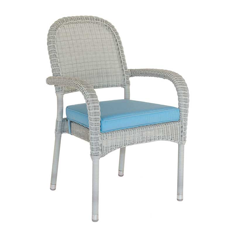 Picture of Alexander Rose Weave Stacking Armchair with Cushion