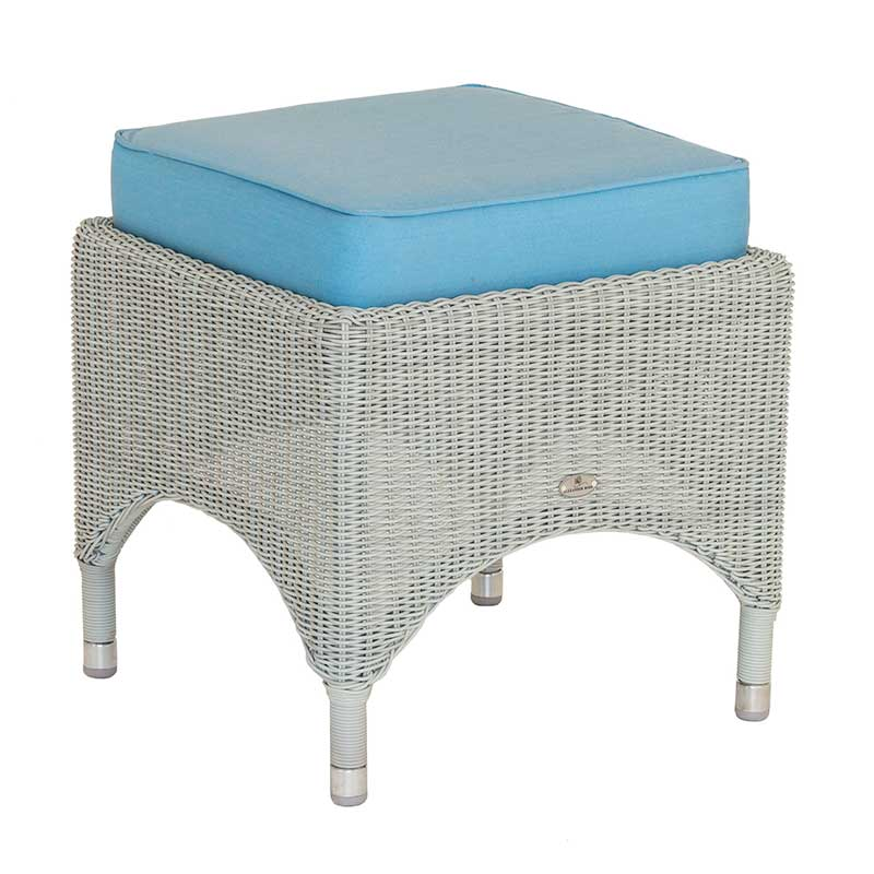 Picture of Alexander Rose Classic Weave Footstool with Cushion