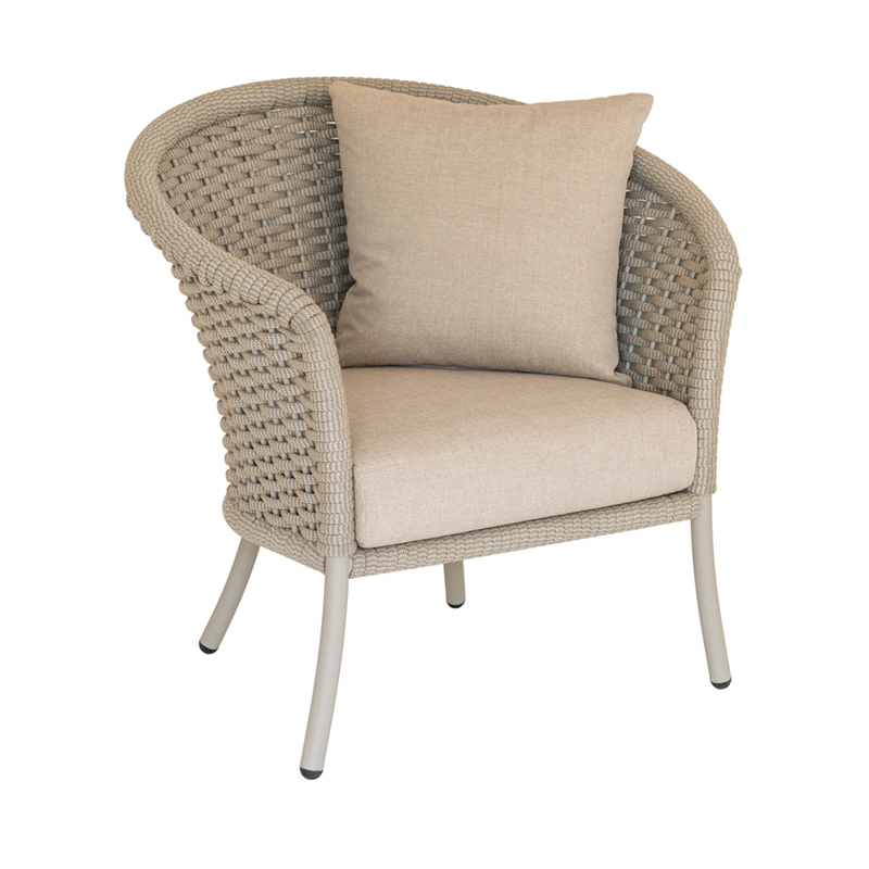 Picture of Alexander Rose Cordial LOUNGE CHAIR (Curved Top)