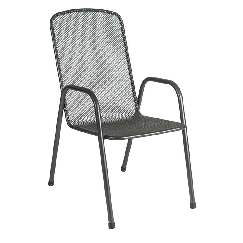 Picture of Alexander Rose Portofino High Back Stacking Armchair