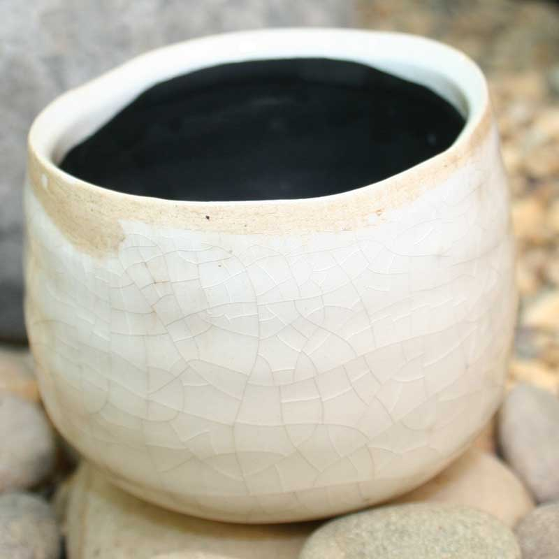 Picture of Ivyline Como Crackle Glazed Pot Cover