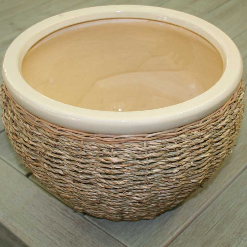 Picture of Ivyline Seagrass Pot Cover