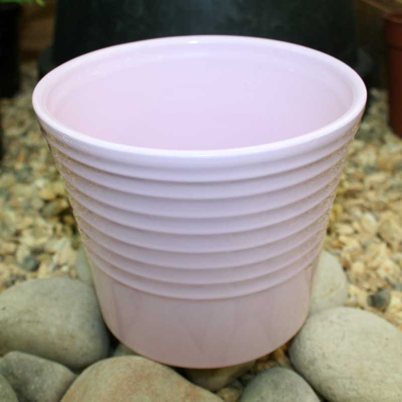 Picture of Ivyline Pink Ceramic Plant Pot cover