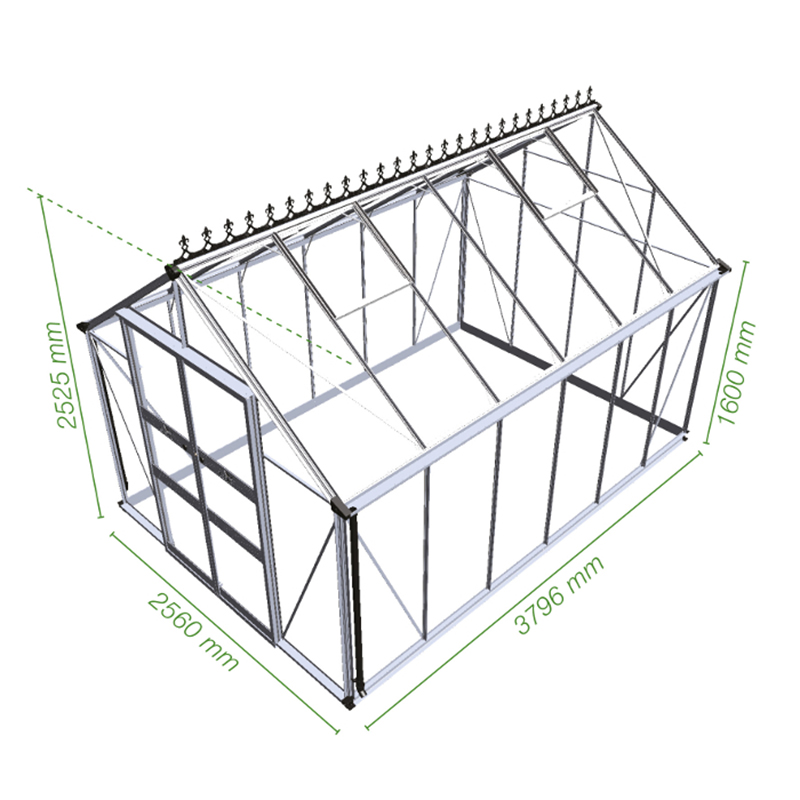 Picture of Eden Blockley 812 Greenhouse