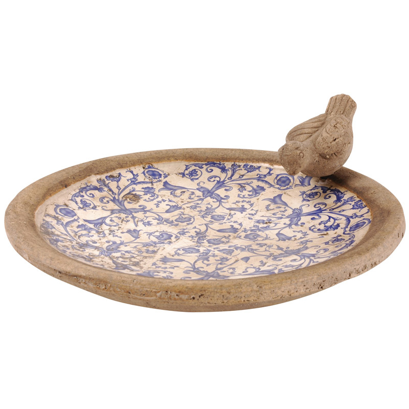 Picture of Fallen Fruits Ceramic Bird Bath