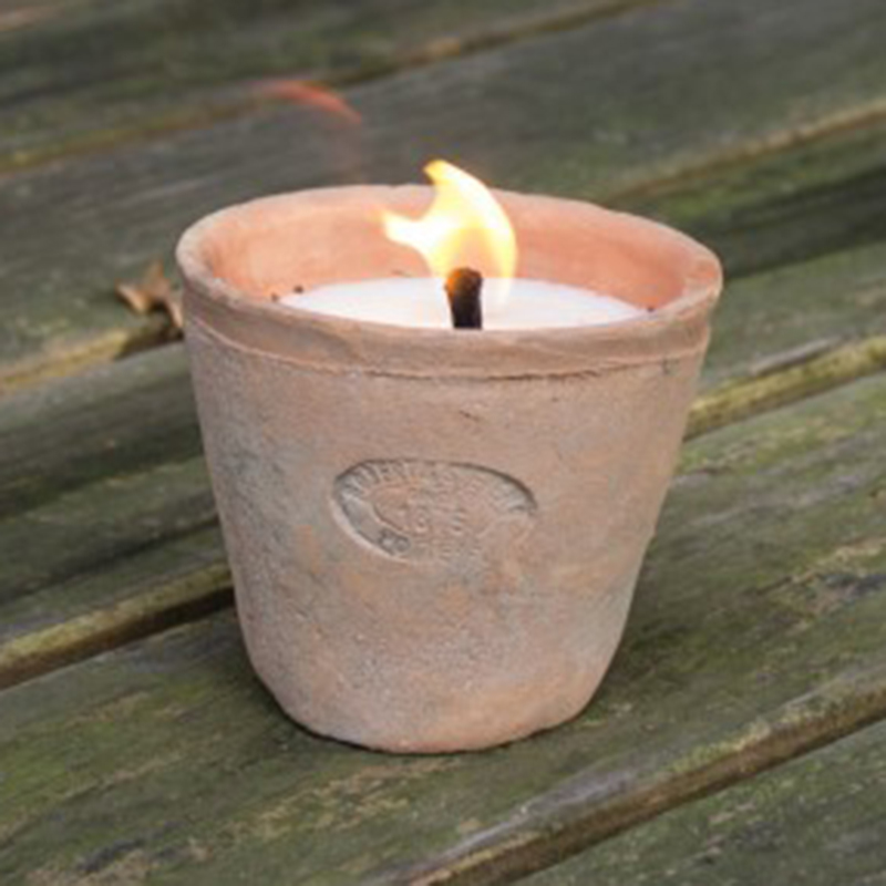Picture of Fallen Fruits Candle in a Aged Terracotta Pot