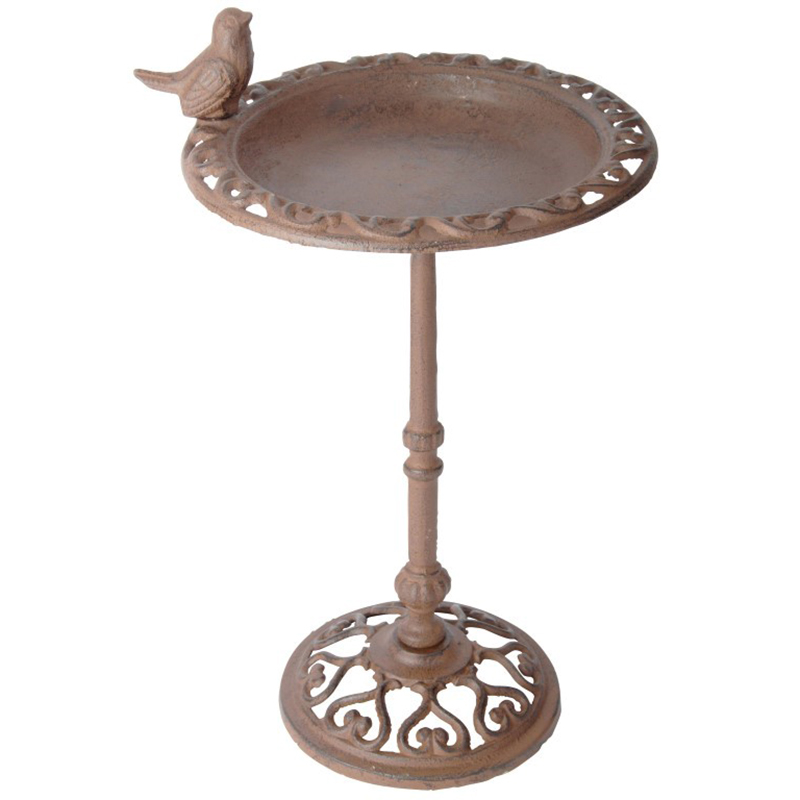 Picture of Fallen Fruits Bird Bath on Stand