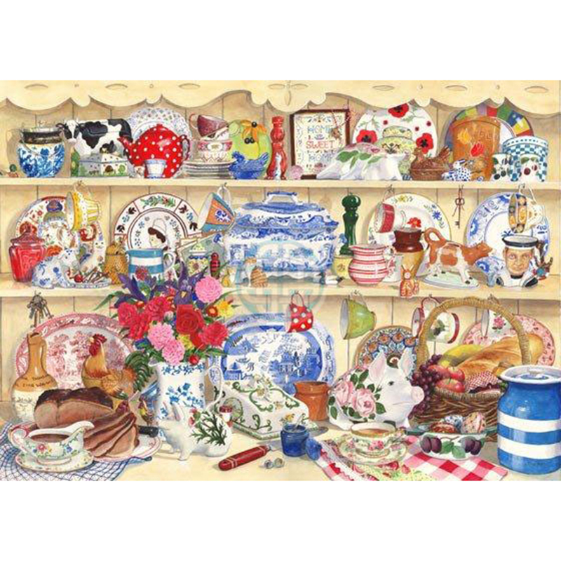 Picture of House of Puzzles 'This Little Pig' Jigsaw