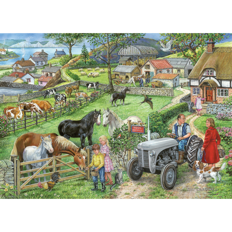 Picture of House of Puzzles 'Eggs for Sale' Jigsaw