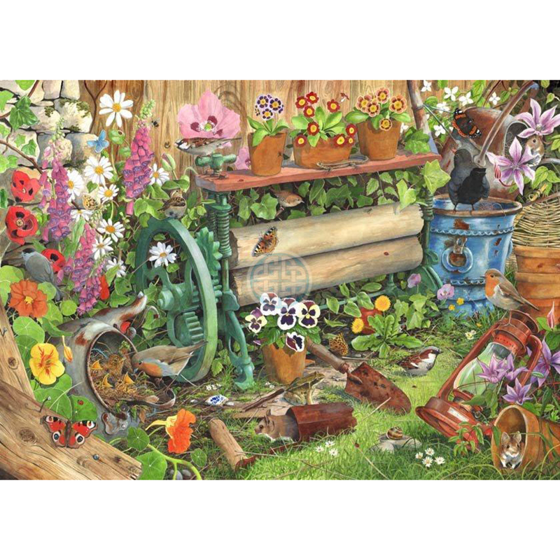 Picture of House of Puzzles 'Robin's Nest' Jigsaw