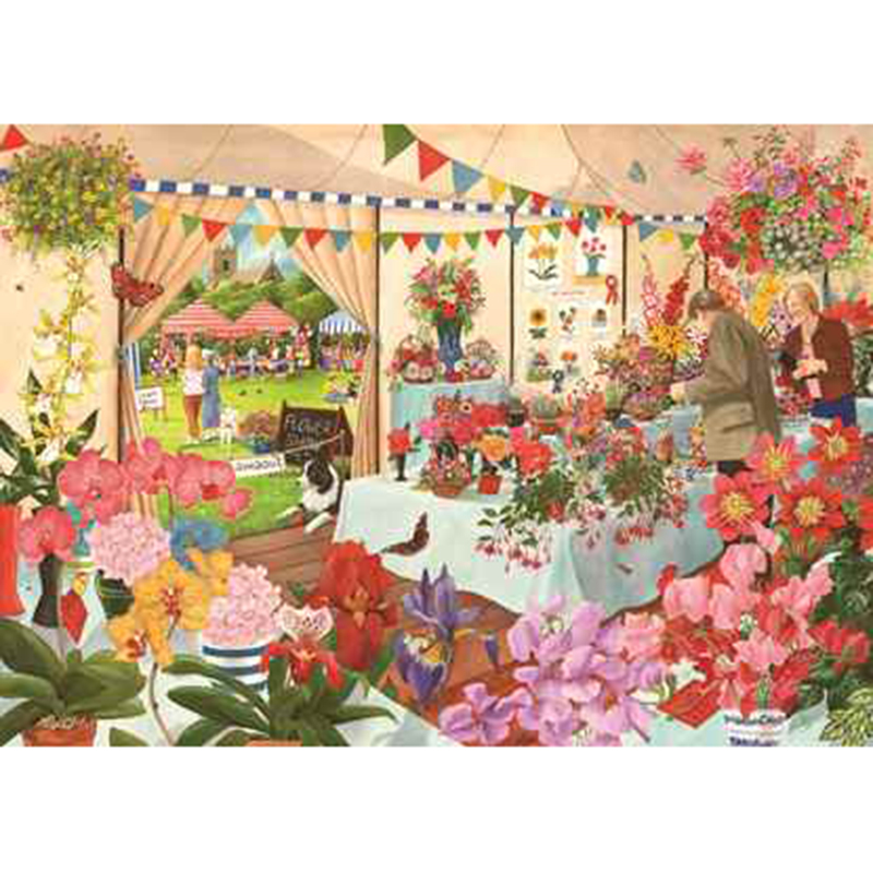 Picture of House of Puzzles 'Flower Show' Jigsaw