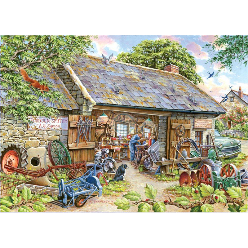 Picture of House of Puzzles 'Make & Mend' Jigsaw