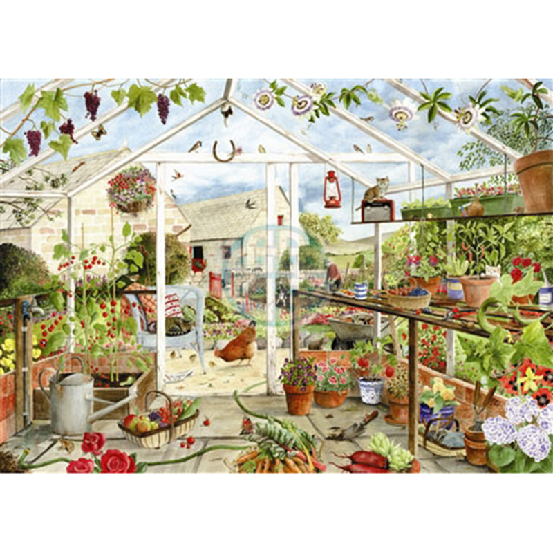 Picture of House of Puzzles 'Greenfingers' Jigsaw