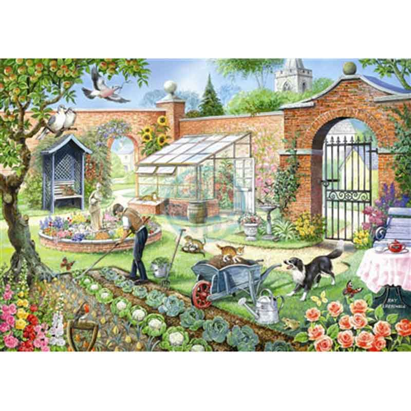 Picture of House of Puzzles 'Kitchen Garden' Jigsaw