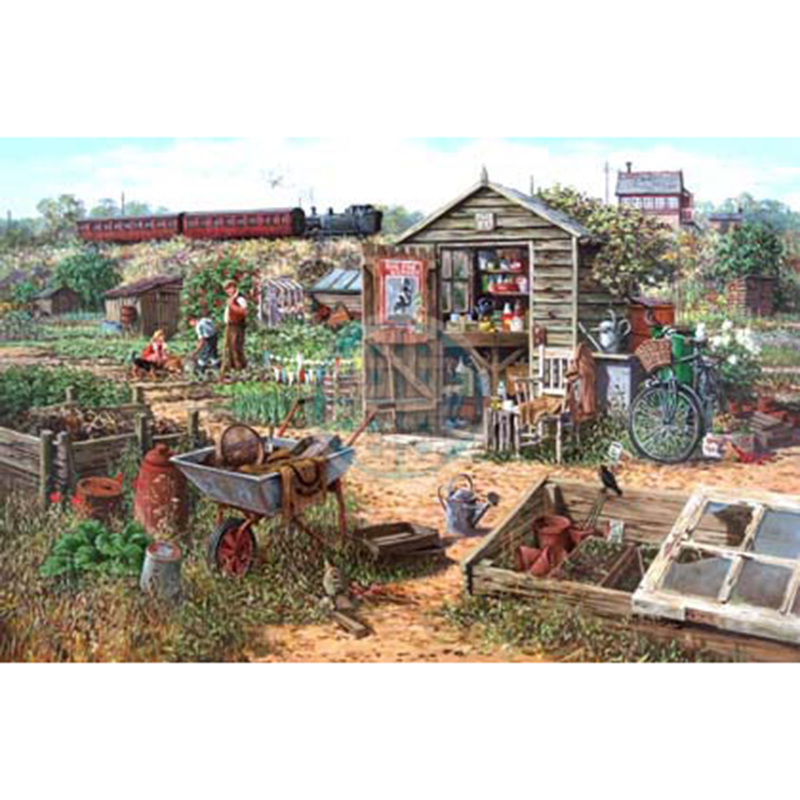 Picture of House of Puzzles 'Grow Your Own' Jigsaw