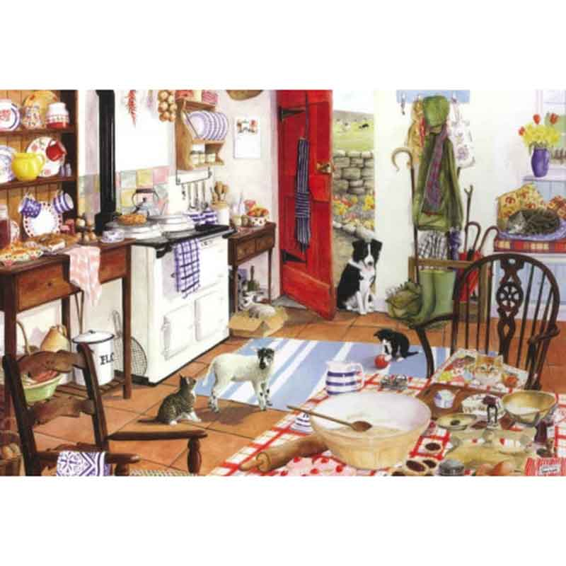 Picture of House of Puzzles 'Farmhouse Kitchen' Jigsaw