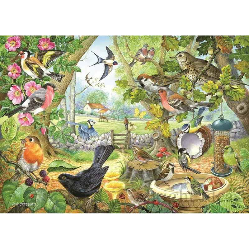 Picture of House of Puzzles 'Dawn Chorus' Jigsaw