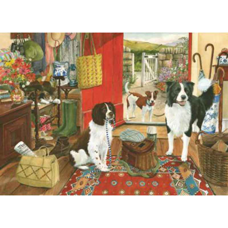 Picture of House of Puzzles 'Walkies' Jigsaw