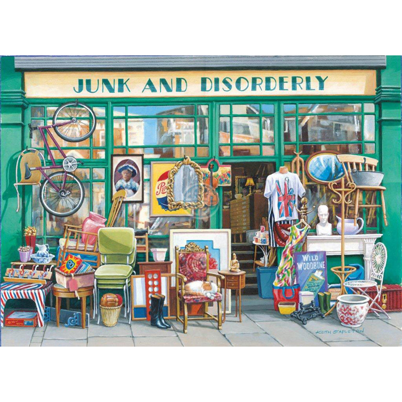Picture of House of Puzzles 'Junk and Disorderly' Jigsaw