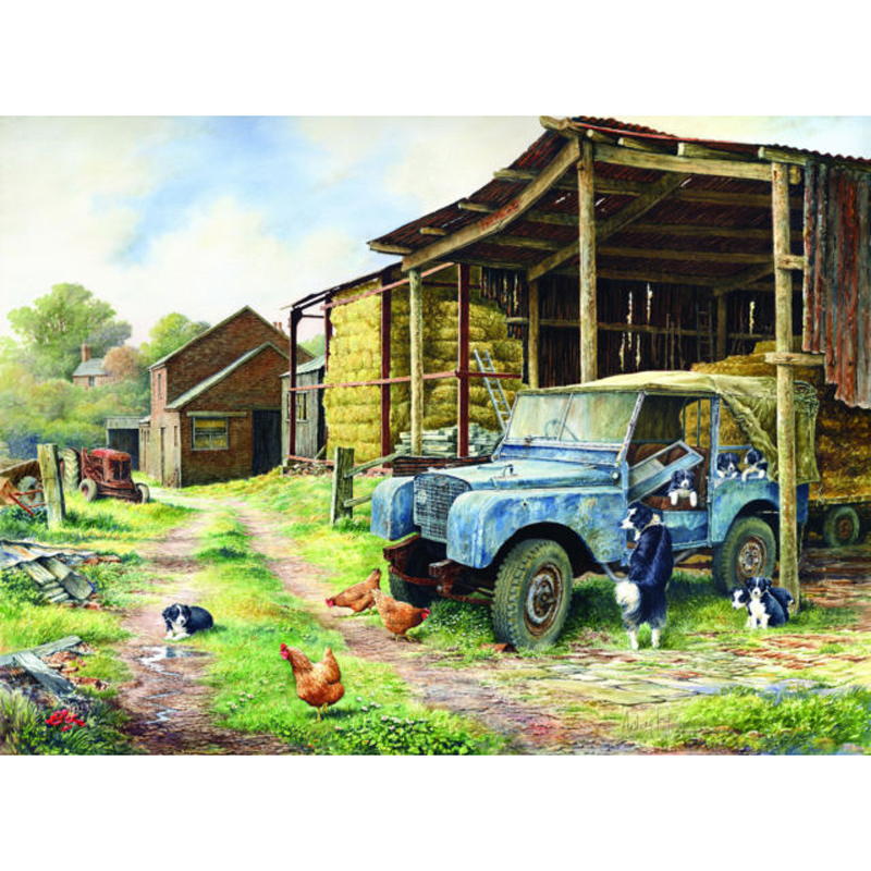Picture of House of Puzzles 'Mobile Home' Jigsaw