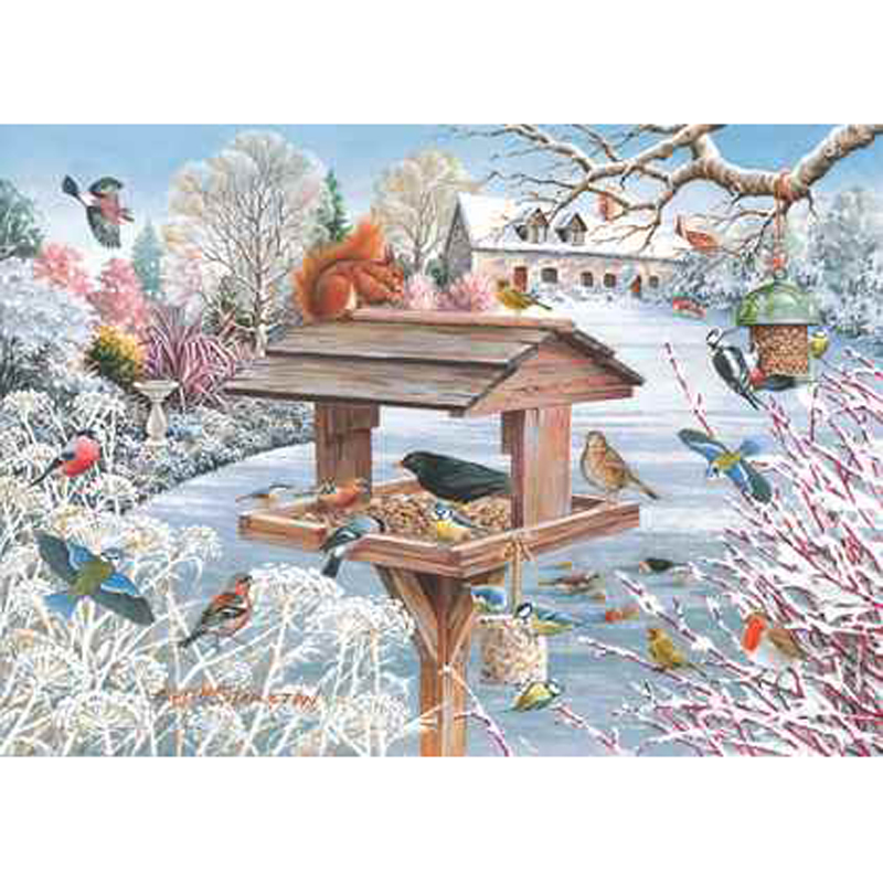 Picture of House of Puzzles 'Crumbs of Comfort' Jigsaw