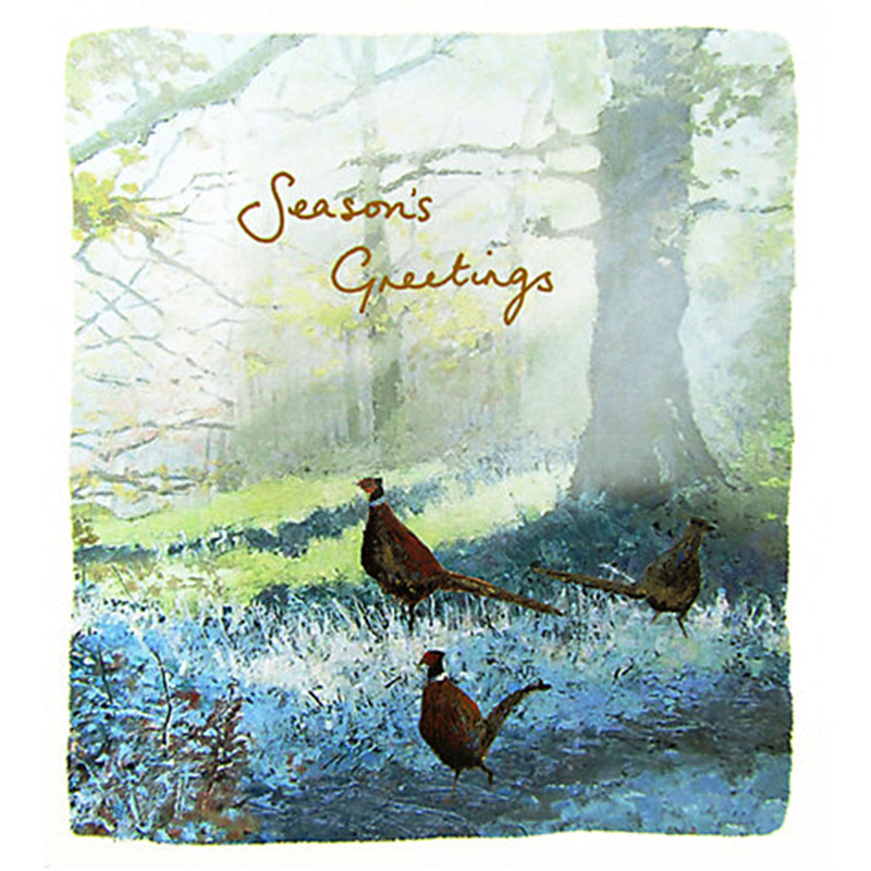 Picture of Woodmansterne Charity 'Frosty Foraging' Greetings Cards