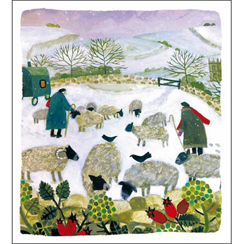 Picture of Woodmansterne Charity 'Frosty Morning' Greetings Cards