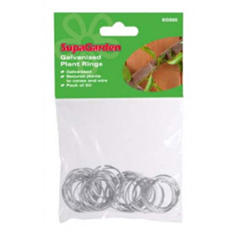 Picture of 50 Galvanised Plant Rings