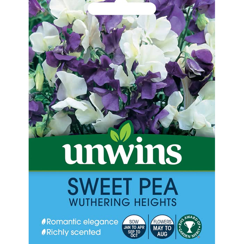 Picture of Unwins Sweet Pea 'Wuthering Heights' Seeds