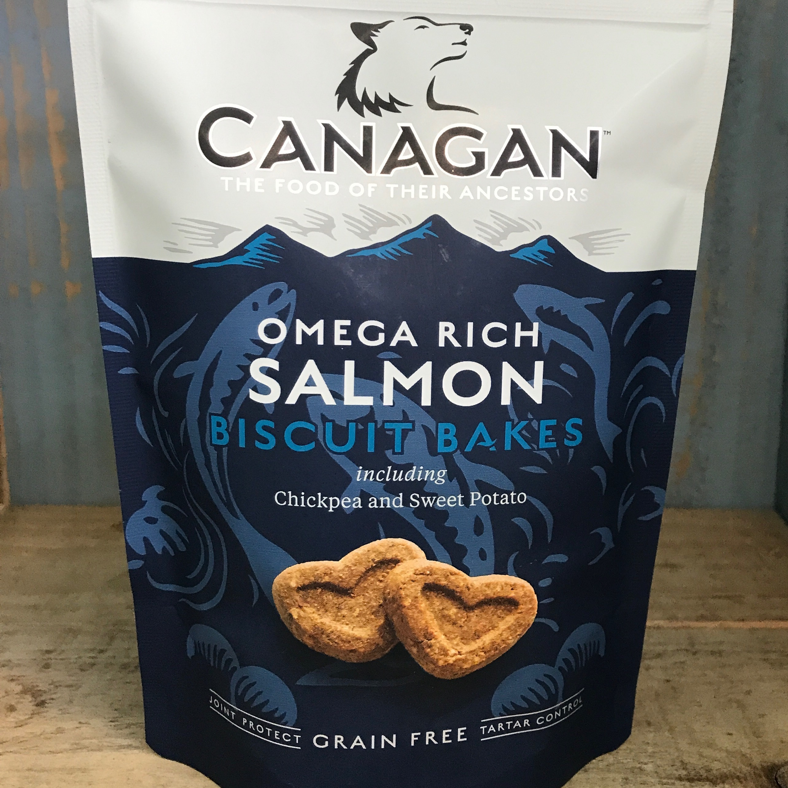 Picture of Canagan Omega Rich Salmon Biscuit Bakes