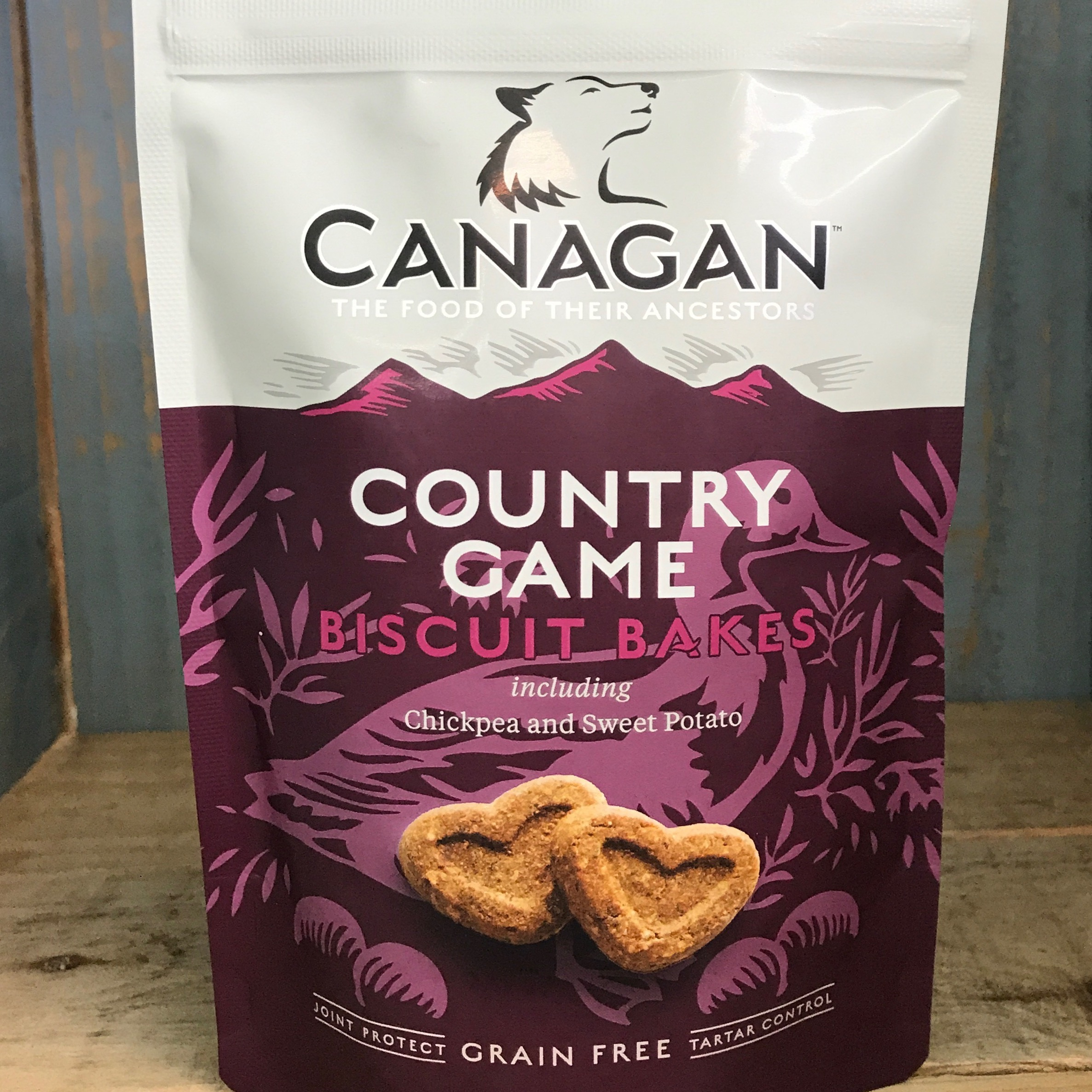 Picture of Canagan Country Game Dog Treat Biscuit Bakes