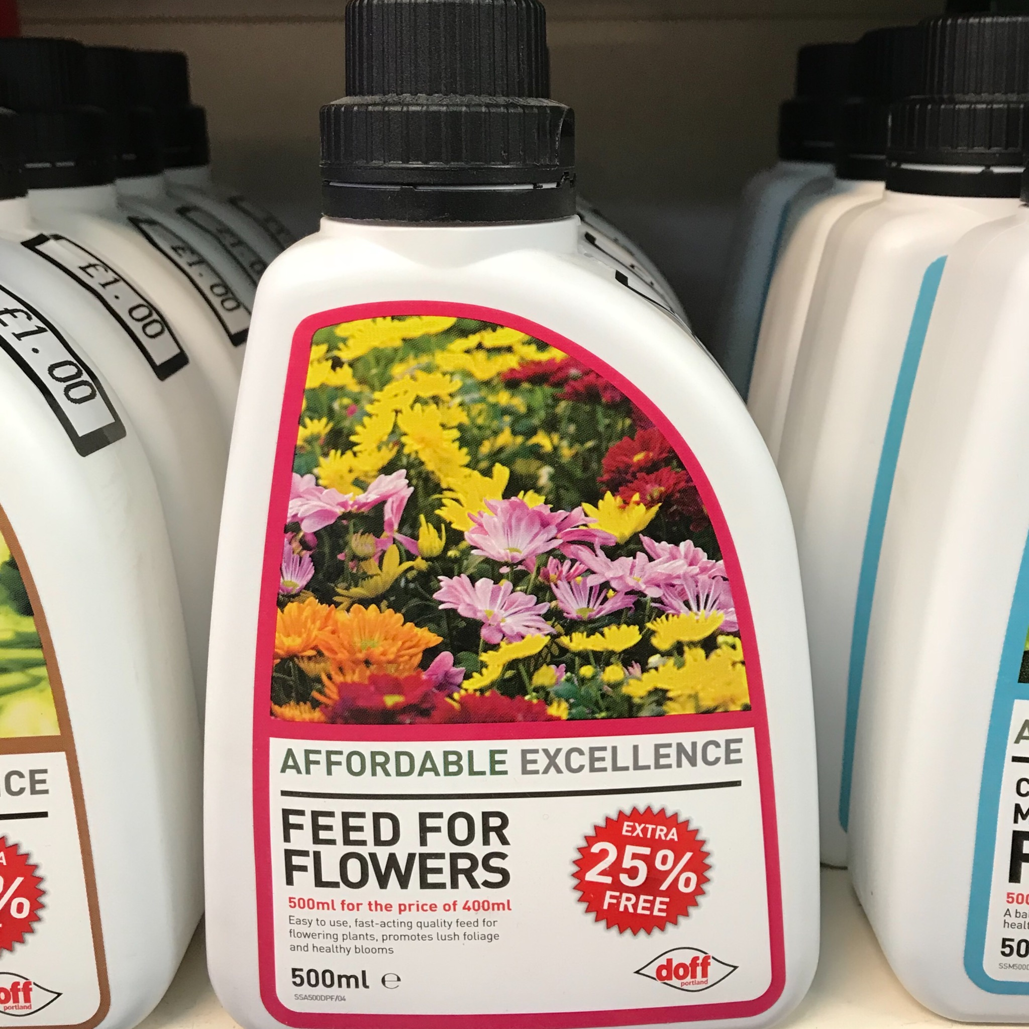 Picture of Doff Concentrated Feed for Flowers