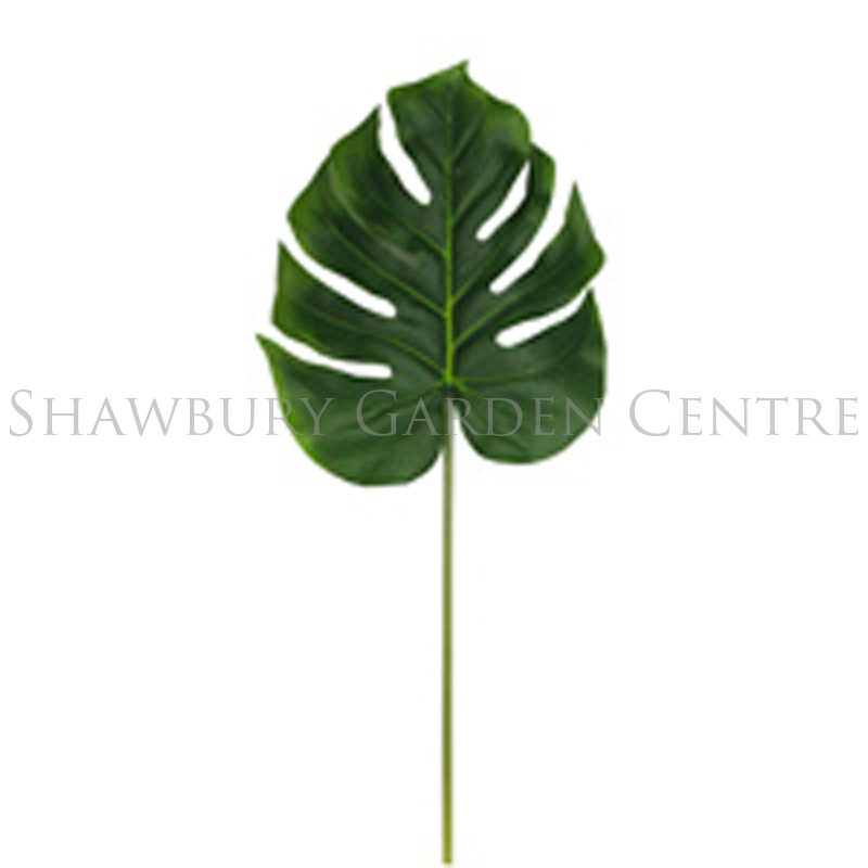 Picture of Gisela Graham Monstera Swiss Cheese Leaf Stem