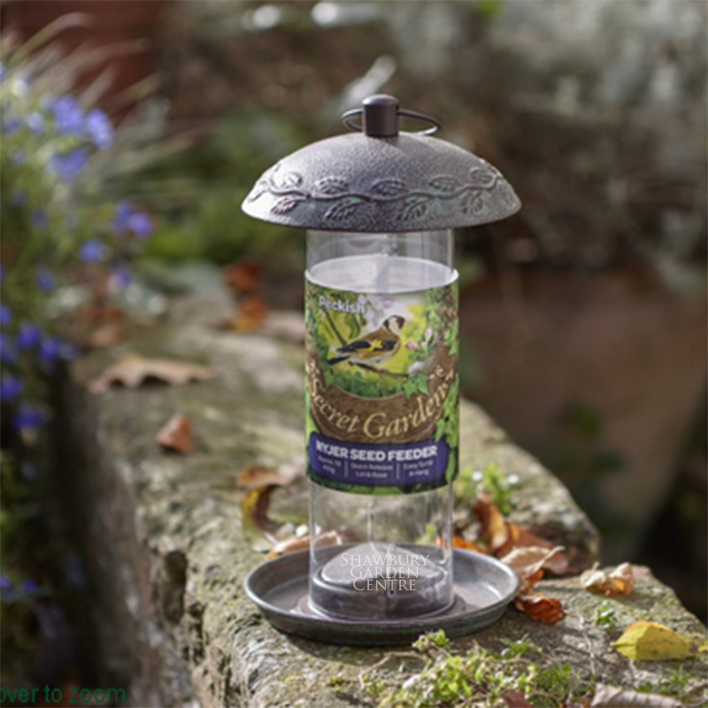 Picture of Peckish Secret Garden- Nyjer Seed Feeder