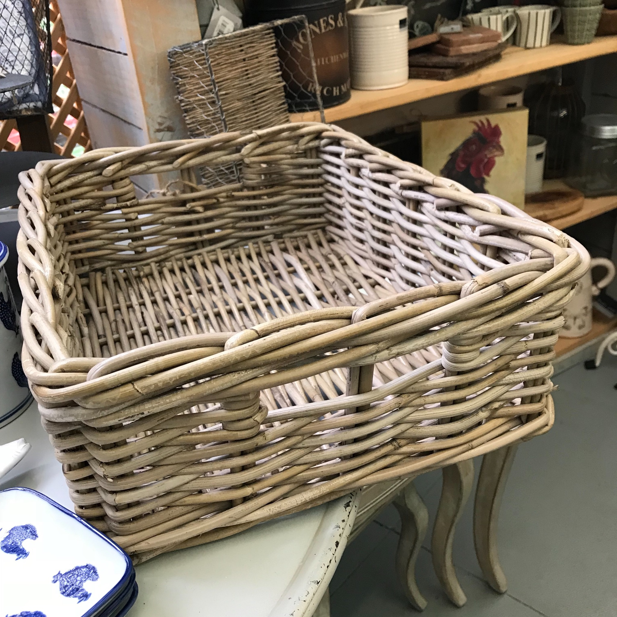Picture of Rectangular Hand Woven Wicker Drawer