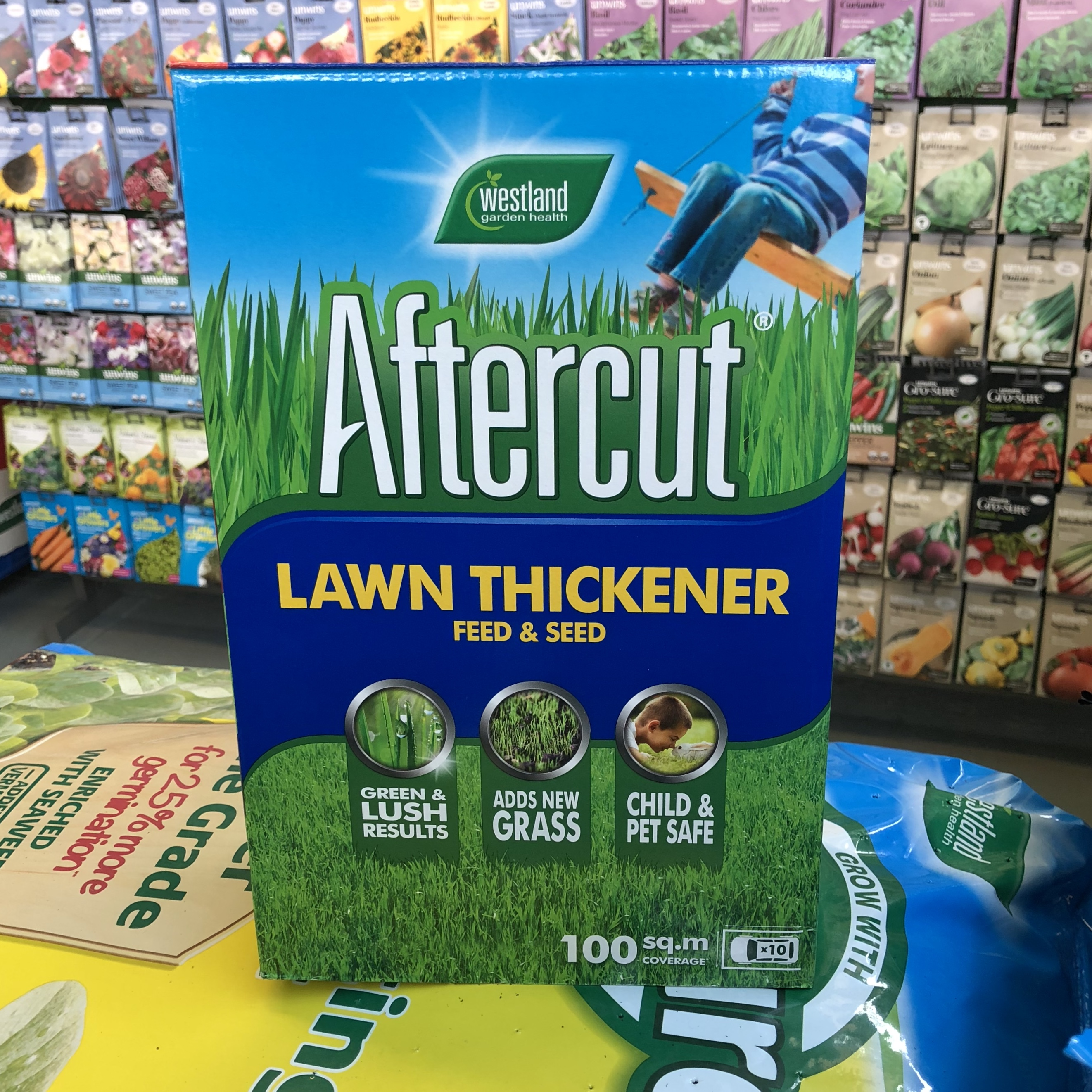 Picture of Westland Aftercut Lawn Thickener Feed & Seed