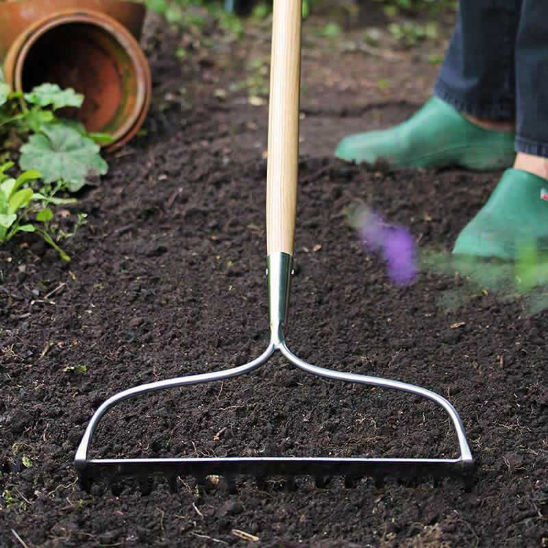 Picture of Kent & Stowe Stainless Steel Long Handled Soil Rake