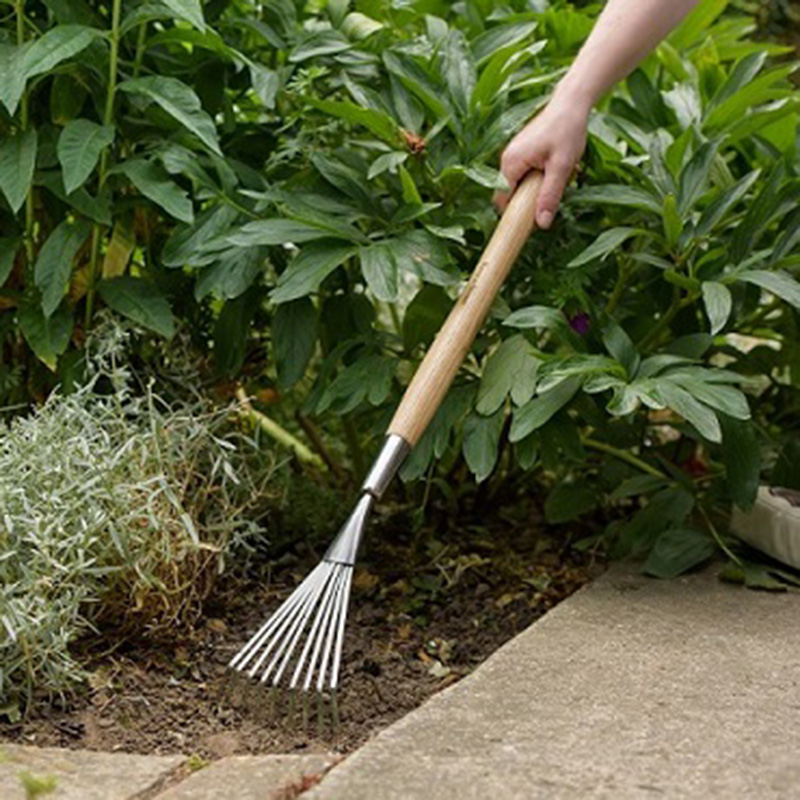 Picture of Kent & Stowe Stainless Steel Border Hand Shrub Rake
