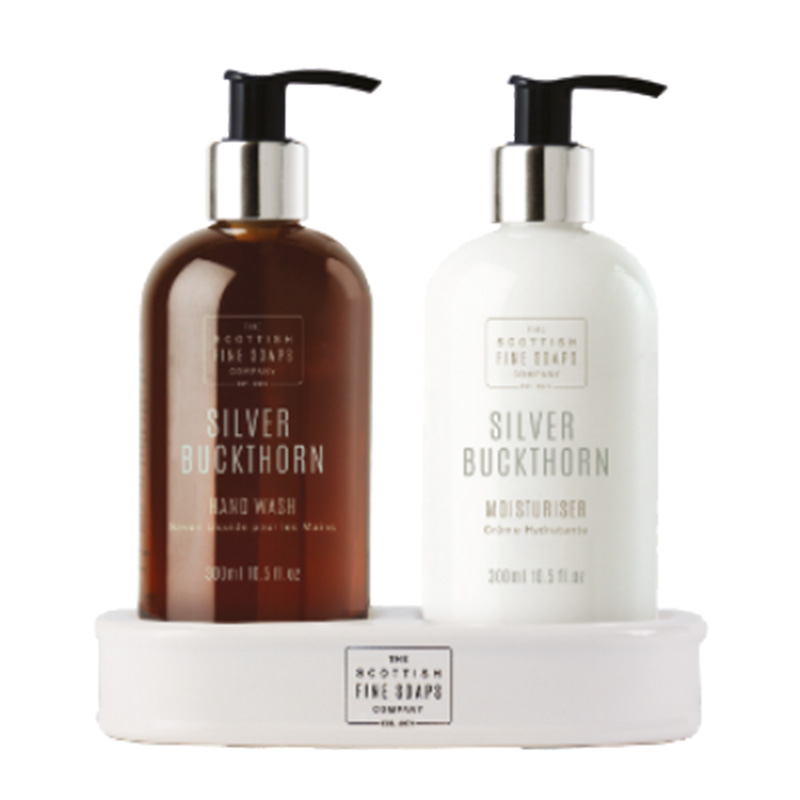 Picture of Scottish Fine Soaps Silver Buckthorn Hand Care Set