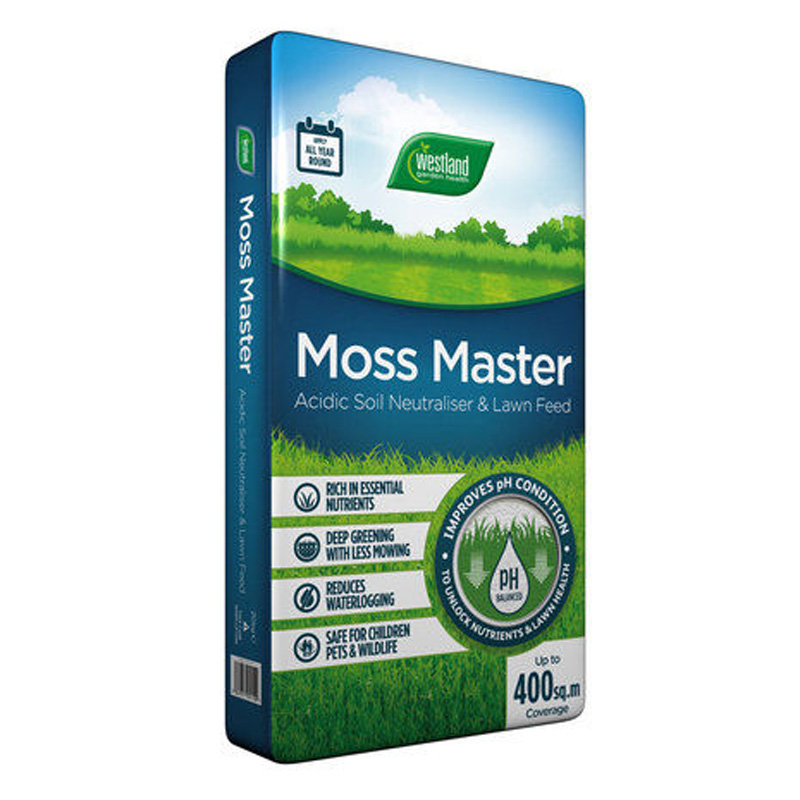 Picture of Westland Moss Master Lawn Feed & Soil Neutraliser