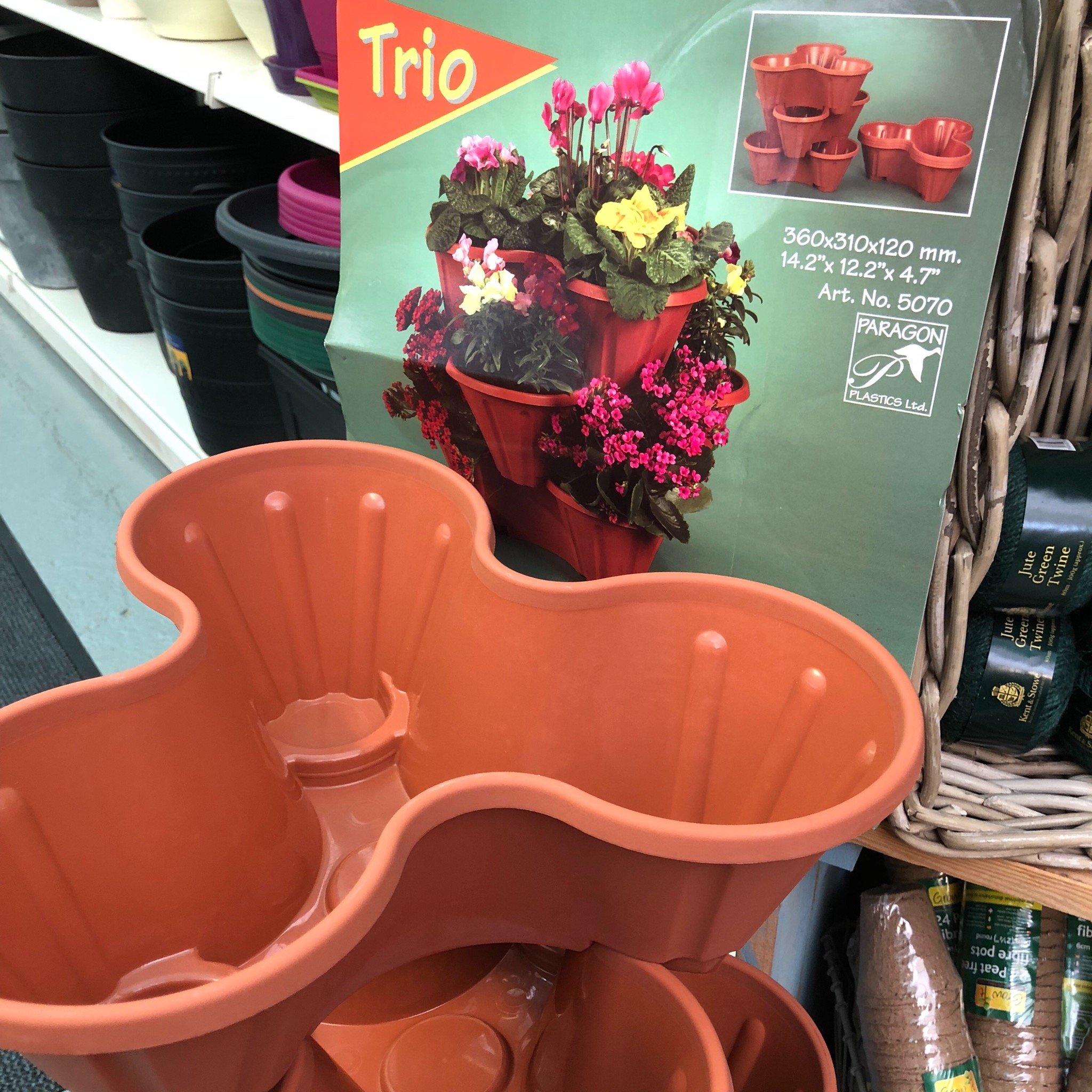 Picture of 'Trio' Stackable Planter