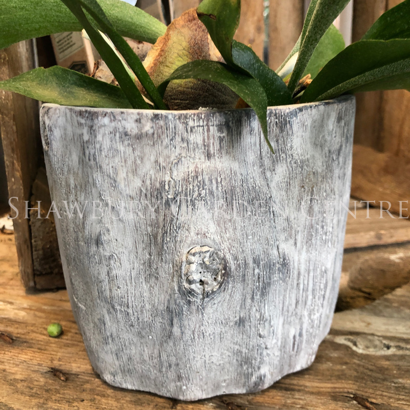 Picture of Gisela Graham Resin Log Plant Pot Cover