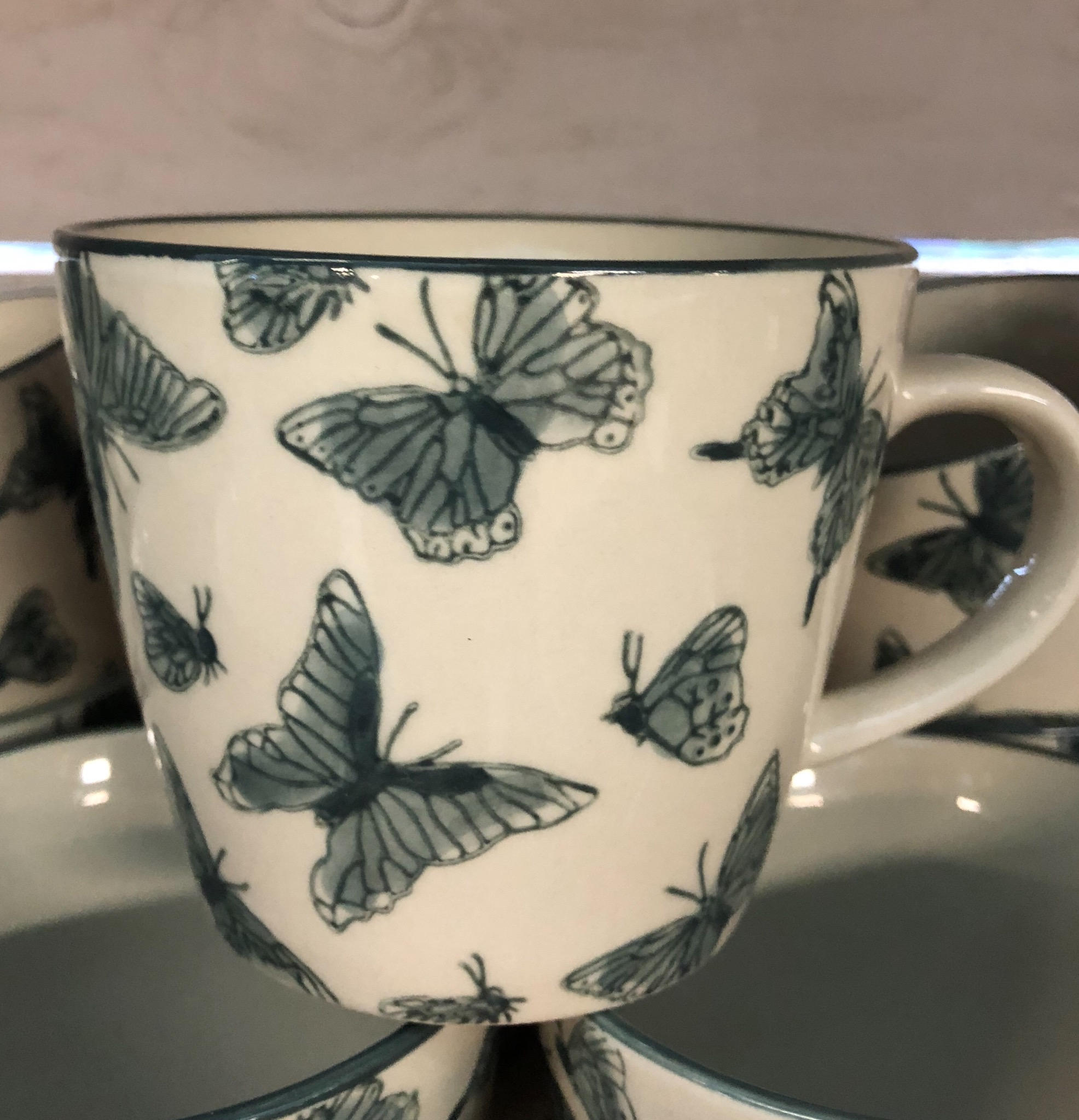 Picture of Gisela Graham Butterfly Mug